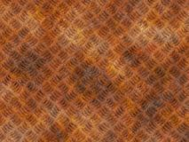 För lättnadsbakgrunder för metall rostig textur royaltyfri bild