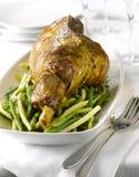 för lambben för bönor grön yellow för stek Royaltyfri Bild