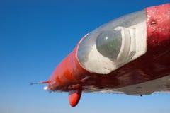 för lamplampa för flygplan grön vinge Royaltyfri Bild