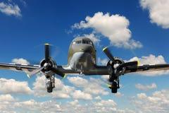 för landningnivå för 47 c vinteg Arkivfoto