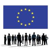 För landsflagga för europeisk union kultur Liberty Concept för nationalitet Royaltyfria Foton