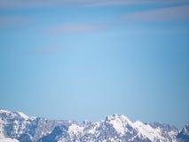 För landskapEuropa för berg alpin himmel österrikare Arkivbild