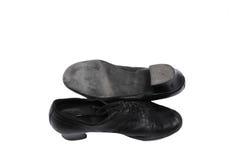 för latina för danshäl höga shoeses par Fotografering för Bildbyråer