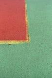 För leklek för tennisbana rubber modell för textur för bakgrund med hm Royaltyfri Bild