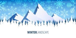 för ligganderussia för 33c januari ural vinter temperatur Julskogträn med berg också vektor för coreldrawillustration vektor illustrationer