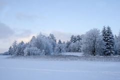 för ligganderussia för 33c januari ural vinter temperatur arkivbild