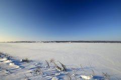 för ligganderussia för 33c januari ural vinter temperatur Royaltyfri Fotografi