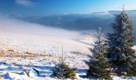 för ligganderussia för 33c januari ural vinter temperatur Arkivfoton