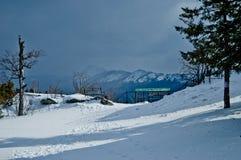 för ligganderussia för 33c januari ural vinter temperatur Nationalpark Taganay, Ryssland Royaltyfri Foto