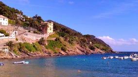 för liguria för destinationsitaly levante turist för sestri region arkivbild
