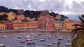 för liguria för destinationsitaly levante turist för sestri region royaltyfria bilder