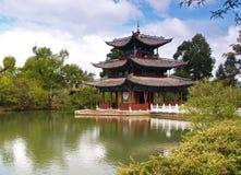 för lijiangpark för porslin 4 landskap Royaltyfri Bild
