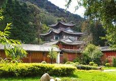 för lijiangpark för porslin 5 landskap Arkivbilder