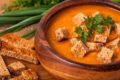för linmitt för östlig mat libanesisk soup Arkivbilder