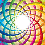 För livcirkulering för vektor färgrik symbol Arkivfoton