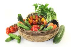 för livsstilmix för bakgrund sund grönsak Arkivfoto