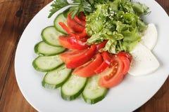 för livsstilmix för bakgrund sund grönsak Fotografering för Bildbyråer