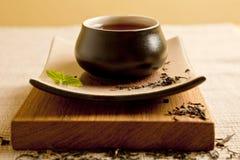 för livstid tea fortfarande royaltyfri bild