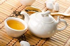 för livstid tea fortfarande Royaltyfri Fotografi