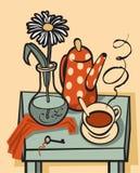 för livstid tea fortfarande Royaltyfria Foton
