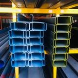 'För ljus diversehandel för material för konstruktion kantkanal' för stål C royaltyfri bild