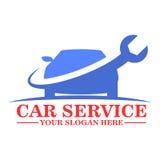 För logomall för bil tjänste- design Royaltyfri Bild