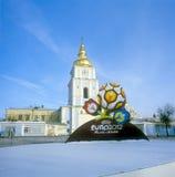 för logoofficiell för euro 2012 uefa Royaltyfri Fotografi