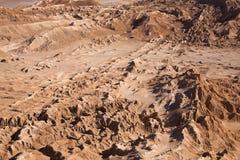 för luna för la för atacamade-öken valle moon dal Royaltyfri Fotografi