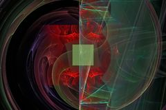För maktljus för fantasi glödande färg för effekt att skina dynamiskt konstnärligt futuristiskt idérikt och att glöda futuristisk vektor illustrationer