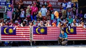 för malaysia för tillgänglig flagga glass vektor stil royaltyfria foton