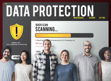 För Malware för Firewall för datafilskydd begrepp borttagning royaltyfri fotografi