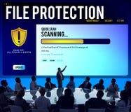 För Malware för Firewall för datafilskydd begrepp borttagning royaltyfria bilder