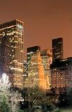 för manhattan för central stad horisont york ny park Royaltyfria Bilder
