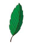 för mappillustration för ai tillgänglig leaf Arkivbilder