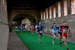 för maratonoro för D half vigevano 2009 för scarpa Royaltyfri Fotografi
