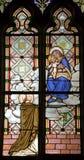 för mary för banska helig stiavnica monk arkivbilder