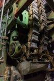 För maskineribälte för Wood Pulper industriell malande produktion för sten Royaltyfri Fotografi