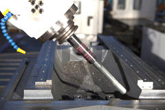 för maskinmetall för drill industriella hjälpmedel Arkivbild