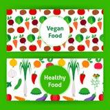 För matrengöringsduk för strikt vegetarian sunda baner Royaltyfria Foton