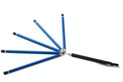 för mekaniska blyertspennor Royaltyfria Bilder