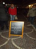 ` För meny för gatamatpickup, Fotografering för Bildbyråer