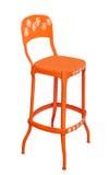 För metallkök för tappning isolerad högväxt stol Royaltyfria Bilder