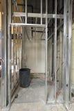 för metalllokal för konstruktion inramning dubb royaltyfria foton
