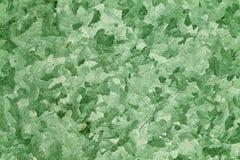 För metallplatta för grön färg skrapad yttersida Arkivbilder