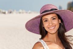 för miami för strand härligt barn kvinna Royaltyfri Bild