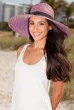 för miami för strand härligt barn kvinna Royaltyfria Foton