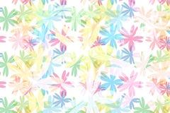 För modellabstrakt begrepp för färgrik blomning blom- bakgrund Arkivbilder