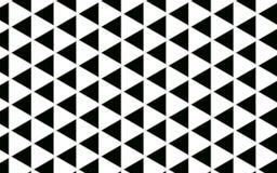 För modellabstrakt begrepp för geometrisk triangel svartvit bakgrund w vektor illustrationer
