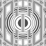 För modellabstrakt begrepp för idérik stam- stil sömlös vektor för illustration för bakgrund Fotografering för Bildbyråer