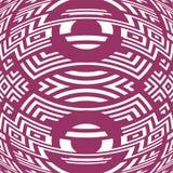 För modellabstrakt begrepp för idérik stam- stil sömlös vektor för illustration för bakgrund Arkivbilder